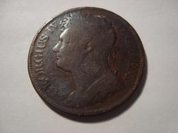 MONNAIE IRLANDE 1 PENNY 1822 - Irlanda