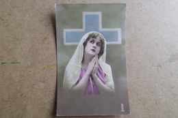 Carte Religieuse - Fabrication Française - ( Religion ) - Vergine Maria E Madonne
