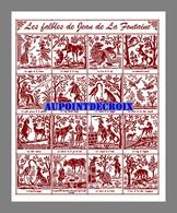 Diagramme Point De Croix - 16 Fables De Jean De La Fontaine (94) - Cross Stitch