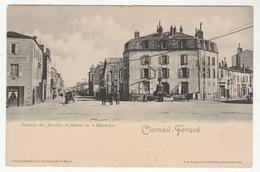 CLERMONT-FERRAND - Fontaine Des Jacobins Et Avenue De La République - Carte Précurseur - Clermont Ferrand