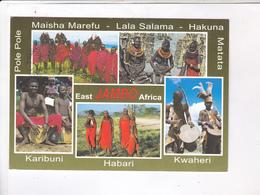CPM PEUPLES DU KENYA (voir Timbre) - Kenya