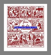 Diagramme Point De Croix - 8 Fables De Jean De La Fontaine (98) - Cross Stitch