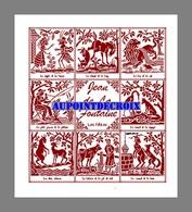 Diagramme Point De Croix - 8 Fables De Jean De La Fontaine (99) - Cross Stitch