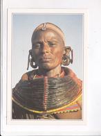 CPM KENYA, WOMAN IN TRIBAL COSTUME - Kenya