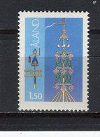 FINLANDE - ALAND - Y&T N° 10** - MNH - Les Mâts De La Saint-Jean - Aland