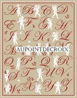 Diagramme Point De Croix - Abécédaire Aux Anges - 187 - Cross Stitch