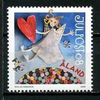 ALAND 2008 N° 303 **  Neuf MNH Superbe Noël Christmas Ange Coeur Neige - Aland