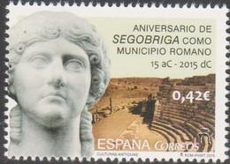 Spagna 2015 Segobriga Como Municipio Romano 1v MNH/** - 1931-Oggi: 2. Rep. - ... Juan Carlos I