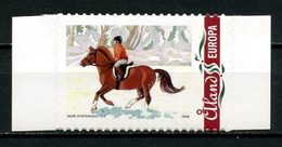 ALAND 2008 N° 302 **  Neuf MNH Superbe Noël Christmas Chevaux Horses Equitation Animaux Atto Adhésif - Aland
