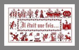 Diagramme Point De Croix - Il était Une Fois (193) - Cross Stitch