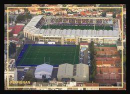 66  PERPIGNAN   .. Vue Aerienne Du  Stade  A - Perpignan