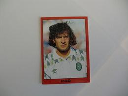 Football Futebol Figo Portugal Portuguese Panini Pocket Calendar 1993 - Calendriers