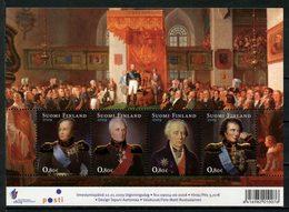 FINLANDE 2009 N° 1908/1911 ** Neufs MNH Superbes C 10 € Fondation Grand Duché Tsar Alexandre Ier Hannerheim Armfelt - Finlande