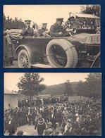 Belgique. Arlon. Le Roi Albert. Manifestations Patriotiques.18 Et 19 Juillet 1920. Martyrs De Rossignol. Lot De 4 Cartes - Manifestazioni
