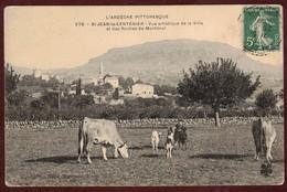 Saint-Jean-le-Centenier Village Vache Chèvre Vaches *  Ardèche Pittoresque  07580  * Arrondissement Largentière N° 278 - Francia
