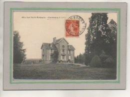 CPA - (35) COMBOURG - Les VAULX-LUISANTS - Aspect Du Château En 1916 - Combourg