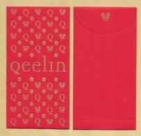Enveloppe Pocket QEELIN * NOUVEL AN CHINOIS CHINESE NEW YEAR 2020 - Cartoline Profumate