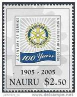 2005 NAURU 543** Rotary - Nauru