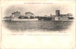 FR66 ESPIRA DE L'AGLY - Labouche 19 - Précurseur - Les écoles Et Le Clocher De L'église - Belle - Altri Comuni