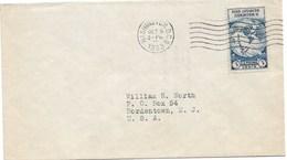 10 - Yvert 323 BYRD ANTARCTIC EXPEDITION II Du 9 OCT 1933 WASHINGTON - Première Date - FDC - - Etats-Unis