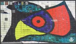 Spagna 2015 Murales BF 1v MNH/** - Blocchi & Foglietti