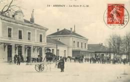 74 , ANNECY , La Gare PLM , * 439 81 - Annecy