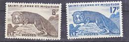Saint Pierre Et Miquelon  345/362 Renard  Neuf **TB MNH Sin Charmela Cote 15.6 - St.Pierre & Miquelon