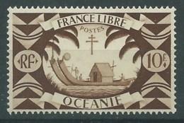 N° 167 / 10f FRANCE LIBRE / OCEANIE / * - Oceanië (1892-1958)