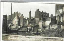 Carte Photo Allemande 59 Lille  , Destruction De Maisons - Soldats,  Non écrite - Lille
