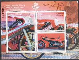 Spagna 2015 Moto D'epoca BF 1v MNH/** - Blocs & Hojas