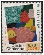 """FR YT 3350 """" Gaston CHAISSAC """" 2000 Neuf** - Ungebraucht"""