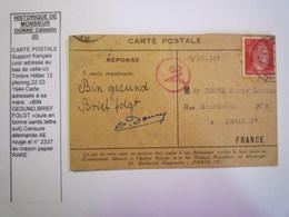 GP 2020 - 2338  Carte De Prisonnier De Guerre  DONNE Célestin  1944 (Travailleur Requis Puis Prisonnier Politique)   XXX - 1939-45