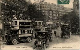 Paris - Boulevard Des Italiens - Autobus - Autres