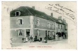 89 - T3802CPA - LEUGNY - L'hotel Du Cheval Blanc - Hotel BREUILLE - Bon état - YONNE - Ohne Zuordnung