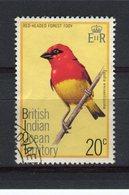OCEAN INDIEN - Y&T N° 65° - Oiseau - Foudia Eminentissima - Territoire Britannique De L'Océan Indien