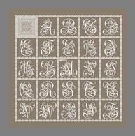 Diagramme Point De Croix - Abécédaire D'Alexandre Lajeunesse (291) - Cross Stitch