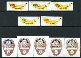 Tonga 1970 Banana & Coconut Coil Stamp Set MNH (SG 325-334) - Tonga (1970-...)