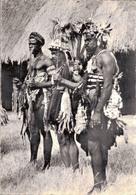 AFRIQUE TYPIQUE / GUERRIERS PRETS A LA DANSE - Cartes Postales