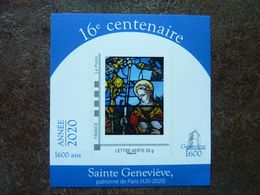 2020 RARE Timbre Sainte Geneviève 16ème Centenaire  ** MNH - Unused Stamps