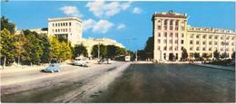 Kishinev - Lenin Prospect - & Old Cars, Panorama - Moldavie
