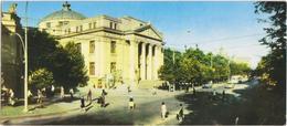 Kishinev - The Moldova Pushkin Music And Drama Theatre - & Old Cars, Theatre - Moldavie