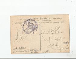 CARTE AVEC CACHET MILITAIRE DU 6 EME REGIMENT TERRITORIAL D'INFANTERIE (PERIODE GUERRE 1914 1918) - Poststempel (Briefe)