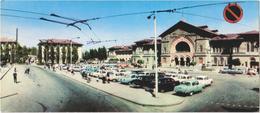 Kishinev - Railway Station - & Old Cars, Railway Station, Bus - Moldavie