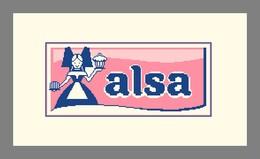Diagramme Point De Croix - Publicité Ancienne - Levure Alsa - 380 - Cross Stitch