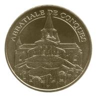 Monnaie De Paris , 2012 , Conques , Abbatiale , Le Chevet - Monnaie De Paris