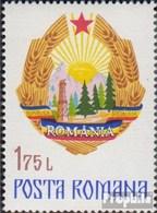 Rumänien Mi.-Nr.: 3342 (kompl.Ausg.) Postfrisch 1976 Staatswappen - 1948-.... Republics
