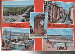 S.BENEDETTO DEL TRONTO VEDUTE   PANORAMA.VIAGGIATA- 1967-FG-MT-2659 - Ascoli Piceno