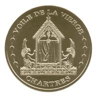 Monnaie De Paris , 2012 , Chartres , Le Voile De La Vierge - Monnaie De Paris