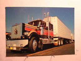 Transports - Automobile - Camions & Poids Lourds - Un 18 Roues Sur Les Autoroutes Américaines - 170 Mm X 118 Mm - Camión & Camioneta