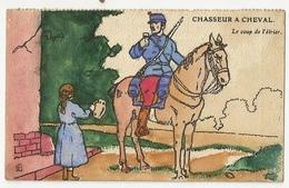 282 - Chasseurs à Cheval - Le Coup De L' Etrier - Uniformes